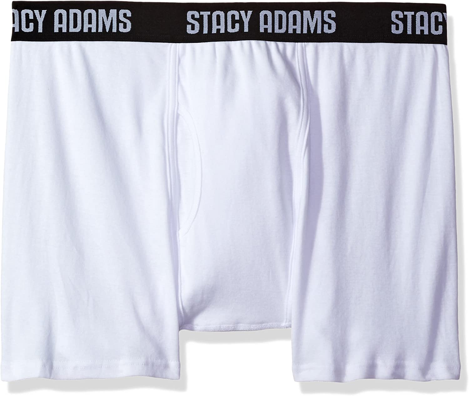 STACY ADAMS Men's Tall 4pack Cotton Boxer Brief, Big Sizes