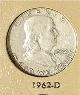 1962 D Franklin Half Dollar Very Good