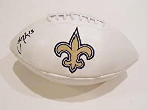 Joseph Morgan Autographed Football - Logo w COA - Autographed Footballs