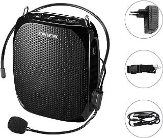 Zoweetek® Amplificador portatil (10W) con 1800 mAh batería de Litio con un microfono