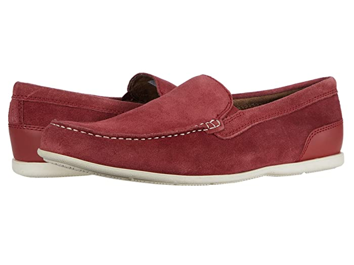 Rockport  Malcom Venetian (Ketchup Suede) Mens Shoes