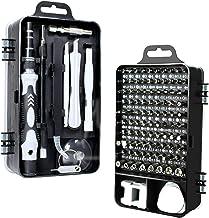 Nishore 115 em 1 Magnetics Precision Chave De Fenda Set Fit Computador Pc Phone Repair Tool Set Kits