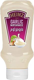 Heinz™ Mayonnaise, Garlic, Top Down Squeezy Bottle, 400ml