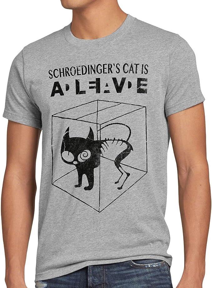 852 opinioni per style3 Gatto di Schrödinger T-Shirt da Uomo
