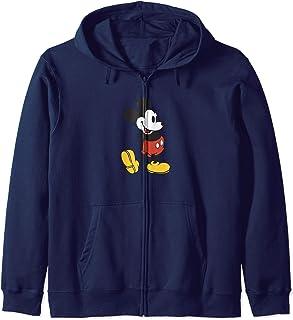Disney Mickey Mouse Retro Standing Foot Pop Sweat à Capuche