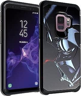 Galaxy S9 Darth Vader Star Wars Case, DURARMOR Dual Layer Hybrid ShockProof Slim Fit Armor Cover for Galaxy S9 (2018) Star Wars Darth Vader