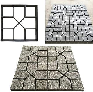 RISTHY Molde de Pavimentación-Molde de Cemento Molde para Hormigón,Hacer Pavimentos/Suelos