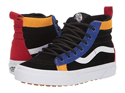 Vans Kids SK8-Hi MTE (Little Kid/Big Kid) ((MTE) Black/Surf The Web) Boys Shoes