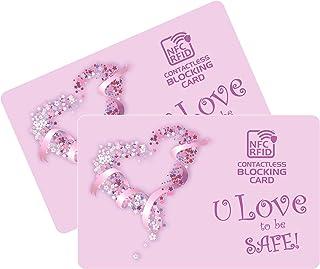 Protezione RFID per Carte di Credito Contactless – Scheda di Blocco Anti NFC - Proteggi Carta Bancaria, Pasaporto, Documen...