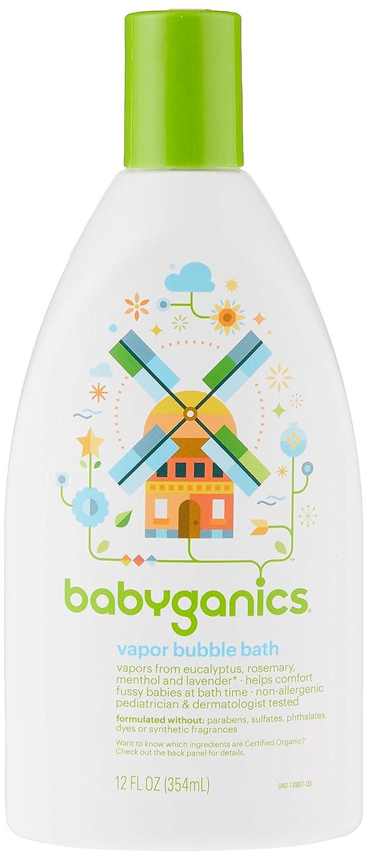 BabyGanics quality assurance Vapor Dedication Bubble Bath -12oz