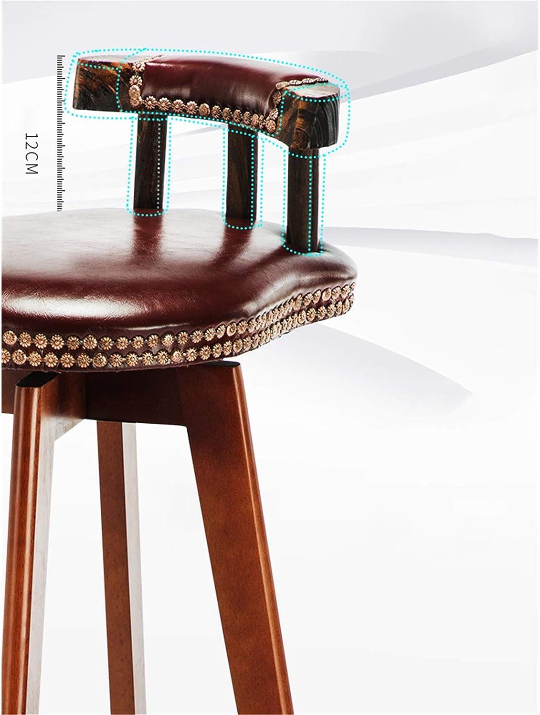 C-J-X STOOL/CHAIR Chaise De Salle à Manger De Réception D'hôtel, Fauteuils Durables Confortables pour Les Chaises De Bar De Café De Salon pour Le Salon 33 * 33 * 74 CM(Color:#5) #2