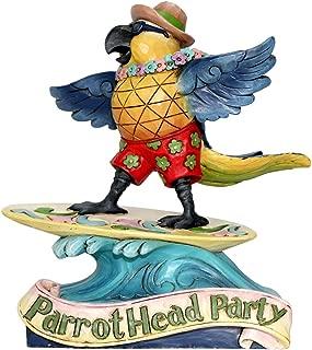 Enesco Margaritaville by Jim Shore Margaritaville Surfing Parrot