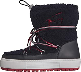 TOMMY HILFIGER Signature Teddy Snow Womens Boots