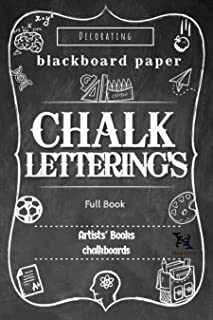 Chalk Lettering's Full Book: Design and Create your Own Style (English Edition)