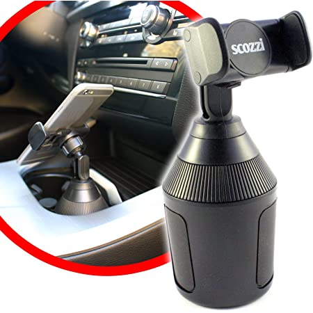Scozzi Universal Handyhalterung Auto Getränkehalter Elektronik