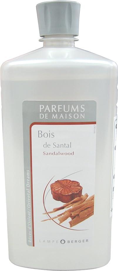 切り刻む魅惑的なひまわりランプベルジェ アロマオイル サンタル(白檀) 1L
