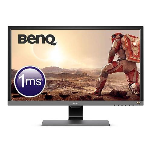 BenQ EL2870U Écran Gaming de 28 pouces, 4K UHD, 1ms, HDR, Eye-Care, Free-Sync, Capteur de luminosité ambiante B.I. Plus, HDMI, Display Port, Haut-parleurs