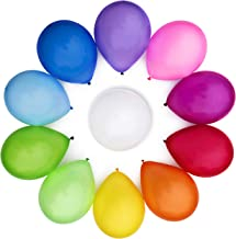 WinkyBoom Balloons Assorted Colour 30 cm 110 Pcs Premium Quality Latex For Birthday Party Decoration