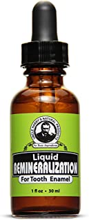 Uncle Harry's Natural & Fluoride-free Remineralization Liquid For Tooth Enamel - Freshens Breath & Strength...