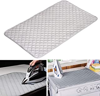 Ironing Blanket, EEEKit Magnetic Heat Resistant Ironing Mat, Laundry Pad Washer Dryer Iron Board Alternative Cover for Travel