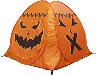 Lightweight Camping Tent, Kids Play Tent Kids Play Tent Children's Tent Halloween Props Pumpkin Tent for Boys Girls Indoor...