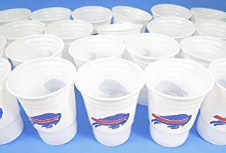 Buffalo Bills 36 party cups barbecue cookout Large plastic colorful 18 oz, game day plastic jumbo cups.