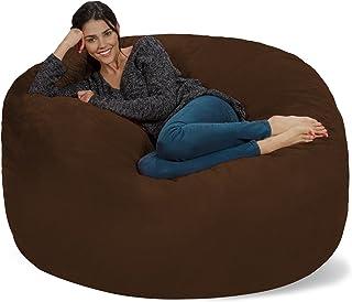Peachy Amazon Com Brown Bean Bags Game Recreation Room Ibusinesslaw Wood Chair Design Ideas Ibusinesslaworg