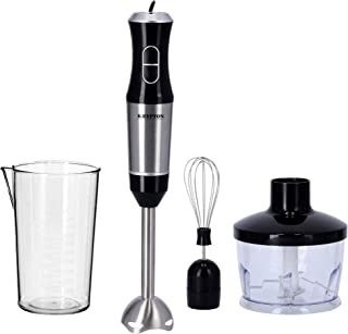 Krypton 400W Powerful Hand Blender | Immersion Hand Blender with 2 Speed |ABS and Stainless Steel | Ideal for Smoothies, S...