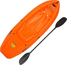 Lifetime 90479 Youth 6 Feet Wave Kayak with Paddle, Orange