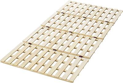 ロングタイプ 桐 すのこ ベッド シングル 幅100×長さ210cm OSR-021