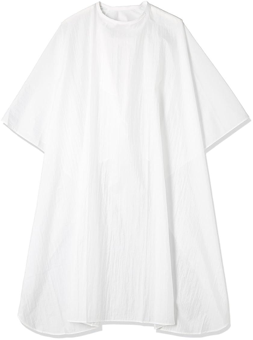 たるみ資本言い換えるとエルコ シワカラー袖なしカット ホワイト60