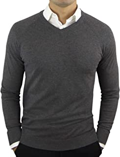 CC Perfect Slim Fit V Neck Sweaters for Men   Lightweight...