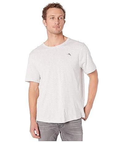 Tommy Bahama Crew Neck T-Shirt (Heather Grey) Men