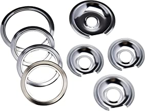 Range Kleen - Chrome Style D contains (3) 6