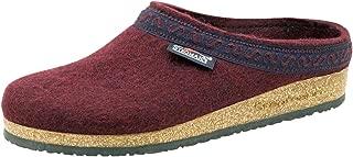 Stegmann Women's Wool Felt Clog with Cork Sole