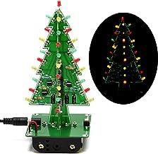 Gikfun 3D USB Christmas Trees 3 Colors LED DIY Kit Flash LED Circuit EK1719