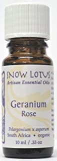 Snow Lotus Geranium Rose Essential Oil Organic 10ml