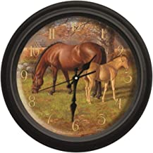 Reflective Art A Proud Heritage Classic Wall Clock, 16-Inch