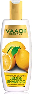 Vaadi Herbals Dandruff Defense Lemon Shampoo With Extract Of Tea Tree, 350 ml