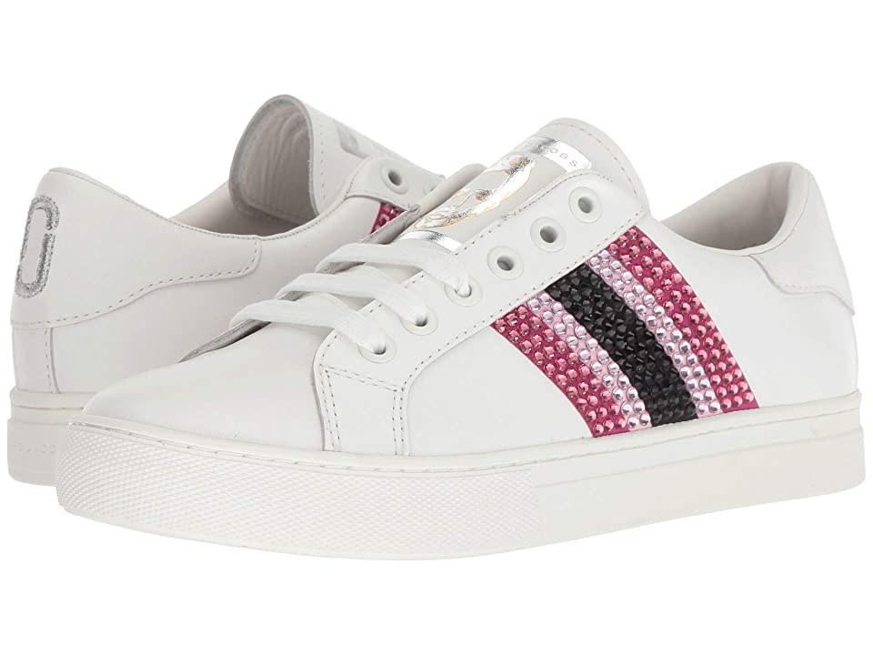 Marc Jacobs Empire Strass Low Top Sneaker (Pink Multi 1) Women