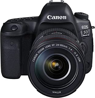 Canon EOS 5D MK IV EF24-105mm L IS Fotoğraf Makinesi, 4K, Siyah, 2 Yıl Canon Eurasia Garantili