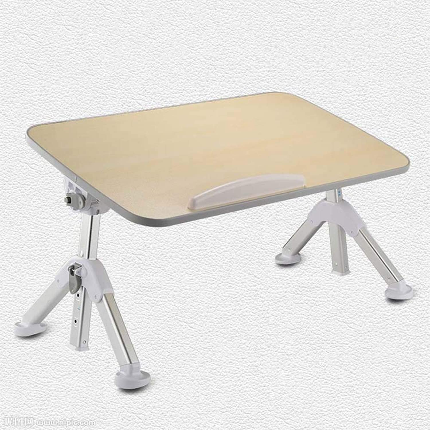 Nightstand Side Table, Bed Small Table Student Dormitory Folding Table, Computer Desk Lazy Board Table Lifting Bedroom Desk, Foldable Table, for Adult Student 4 colors, 3 Sizes End Table