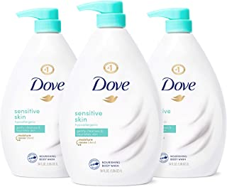 Dove Body Wash Hypoallergenic and Sulfate Free Body Wash Sensitive Skin Effectively Washes Away Bacteria While Nourishing ...
