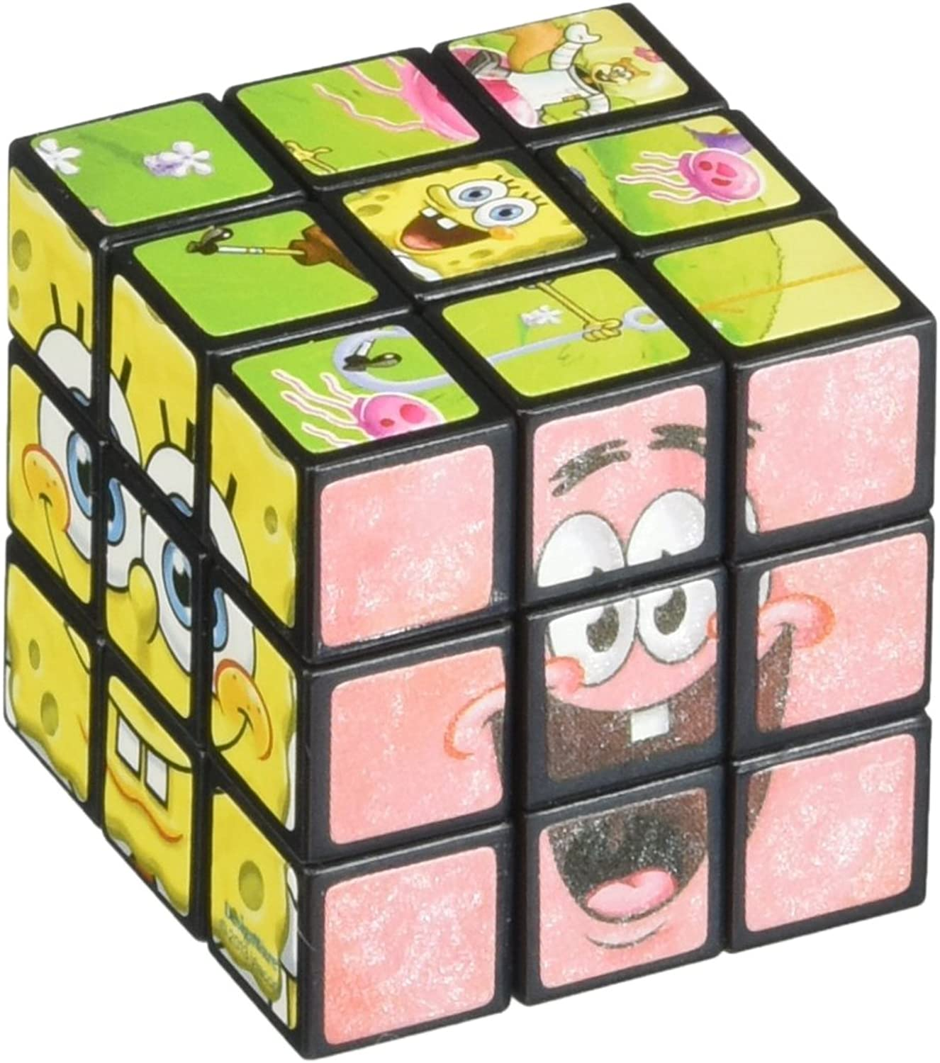 Little Treasures Elephant Puzzle Cube 2x2 Sequential Cube