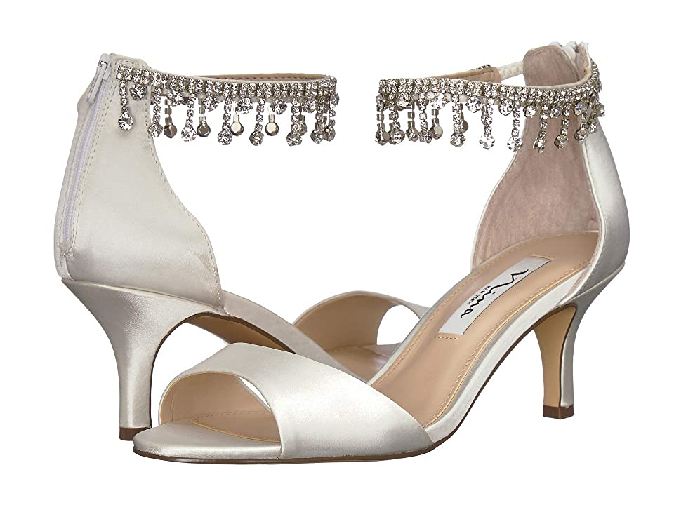 Nina Chianne (White Satin) High Heels