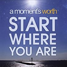 Start Where You Are [Explicit]