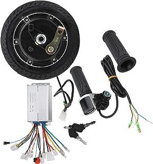 Borstelloze naafmotor, uitgerust met batterij-indicator en elektronisch slot Conversieset voor elektrische scooters, prakt...