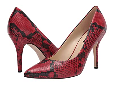 Nine West Flax Pump (Red) High Heels