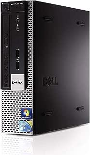 Dell Optiplex 780 SFF Desktop Business Computer PC (Intel Core 2 Duo Processor 2.93GHz, 8GB DDR3 Memory, 1TB HDD, DVD ROM, Windows 7 Professional) (Renewed)