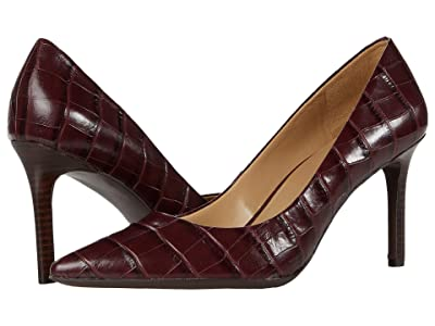 Naturalizer Anna (Cab Sav Croco Print Leather) Women